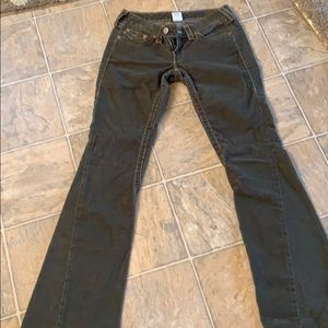 True Religion Forest Green Jeans